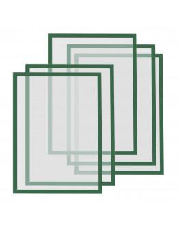 Рамки магнитные A4 Magnetofix Frame Green Set (1130305)