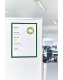Рамки магнитные A4 зеленые Magnetofix Frame Green Set (1130305)