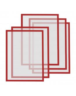 Рамки магнитные A4 Magnetofix Frame Red Set (1130306)