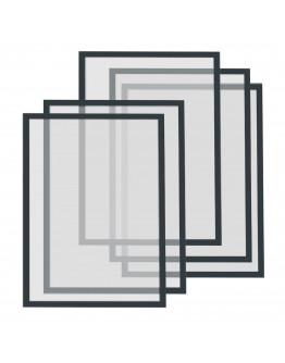 Рамки магнитные A4 Magnetofix Frame Black Set (1130312)