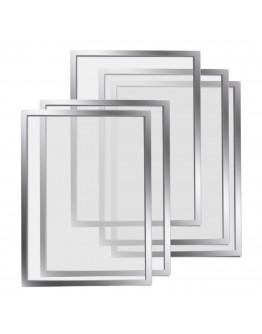 Рамки магнитные A4 Magnetofix Frame Silver Set (1130332)