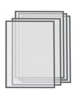 Рамки магнитные A3 серые Magnetofix Frame Gray Set (1130401)