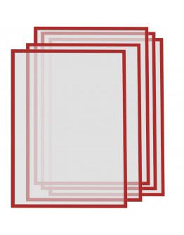 Рамки магнитные A3 красные Magnetofix Frame Red Set (1130406)