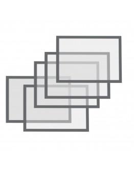 Рамки магнитные A5 серые Magnetofix Frame Gray Set (1131101)