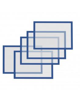 Рамки магнитные A5 Magnetofix Frame Blue Set (1131103)
