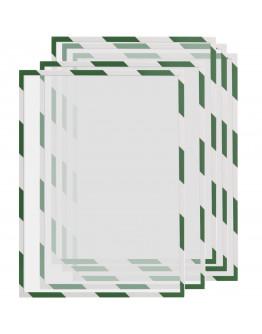 Рамки сигнальные магнитные A3 Magnetofix Frame SAFETY Green/White Set (1131345)
