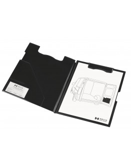 Клипборд-папка магнитная A4 Magnetoplan Clipboard Folder Black (1131612)