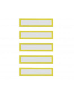 Рамки заголовков магнитные A5/A4 желтые Magnetofix Frame TOPSIGN Yellow Set (1131702)
