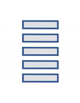 Рамки заголовков магнитные A5/A4 синие Magnetofix Frame TOPSIGN Blue Set (1131703)