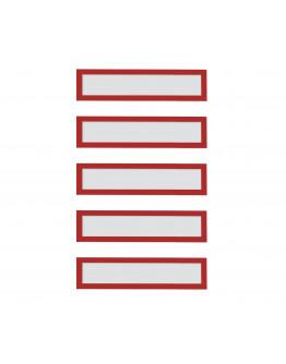 Рамки заголовков магнитные A5/A4 красные Magnetofix Frame TOPSIGN Red Set (1131706)