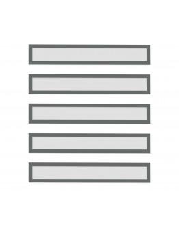 Рамки заголовков магнитные A4/A3 серые Magnetofix Frame TOPSIGN Gray Set (1131801)