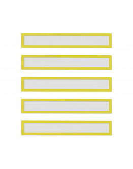 Рамки заголовков магнитные A4/A3 желтые Magnetofix Frame TOPSIGN Yellow Set (1131802)