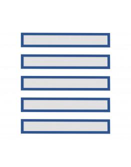 Рамки заголовков магнитные A4/A3 синие Magnetofix Frame TOPSIGN Blue Set (1131803)