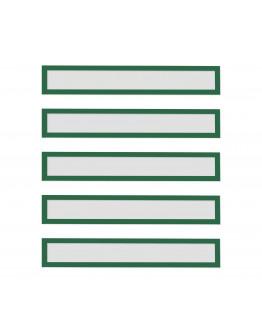 Рамки заголовков магнитные A4/A3 зеленые Magnetofix Frame TOPSIGN Green Set (1131805)