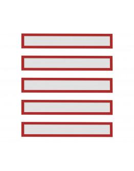 Рамки заголовков магнитные A4/A3 красные Magnetofix Frame TOPSIGN Red Set (1131806)