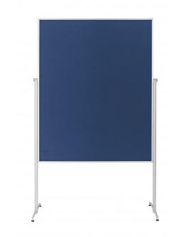Доска модерационная мобильная 1200x1500 Magnetoplan Evolution+ Felt-Blue Mobile (1151103)