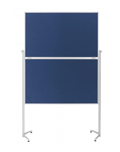 Доска модерационная мобильная складная 1200x1500 синяя Magnetoplan Evolution+ Folding Felt-Blue Mobile (1151303)