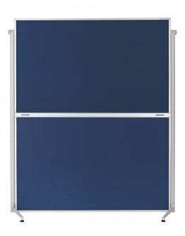 Доска модерационная мобильная складная 1200x1500 Magnetoplan Evolution+ Folding Felt-Blue Mobile (1151303)