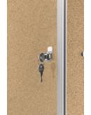 Витрина интерьерная пробковая 610x730x40 Magnetoplan Showcase SP Cork (1215024)