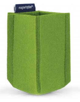 Держатель маркеров магнитный малый из PET-войлока зеленый Magnetoplan magnetoTray SMALL Green (1227605)