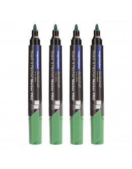Маркеры универсальные зеленые Magnetoplan PRO+ Green Set (1228105)