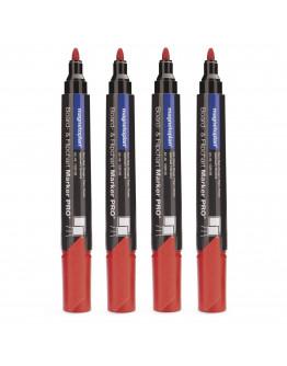 Маркеры универсальные красные Magnetoplan PRO+ Red Set (1228106)