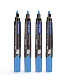 Маркеры универсальные голубые Magnetoplan PRO+ LightBlue Set (1228116)
