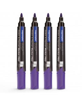 Маркеры универсальные фиолетовые Magnetoplan PRO+ Violet Set (1228119)