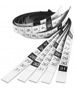 Ленты календарные магнитные для годового планировщика 1241212E Magnetoplan Calendar Strips Set (12412xxKE)
