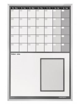 Планировщик месяца 7дн/нед+заметки 625x920 Magnetoplan Monthly Planner CC 7WeekDays&Notes (1249512VS)