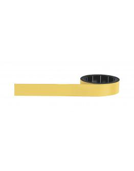 Лента магнитная маркировальная 1x15 желтая Magnetoflex Yellow (1261502)