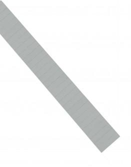 Карточки этикеточные 40x10 серые Magnetoplan Ferrocard Labels Gray Set (1284101)