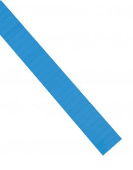Карточки этикеточные 40x10 синие Magnetoplan Ferrocard Labels Blue Set (1284103)