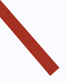 Карточки этикеточные 40x10 красные Magnetoplan Ferrocard Labels Red Set (1284106)