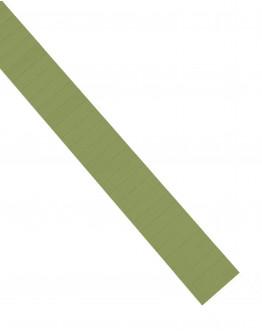 Карточки этикеточные 40x10 оливкового цвета Magnetoplan Ferrocard Labels Olive Set (1284109)