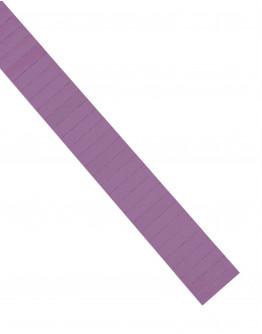 Карточки этикеточные 40x10 фиолетовые Magnetoplan Ferrocard Labels Violett Set (1284111)