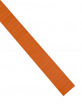 Карточки этикеточные 40x10 оранжевые Magnetoplan Ferrocard Labels Orange Set (1284144)