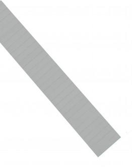 Карточки этикеточные 50x10 серые Magnetoplan Ferrocard Labels Gray Set (1284201)