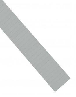 Карточки этикеточные 60x10 серые Magnetoplan Ferrocard Labels Gray Set (1284501)