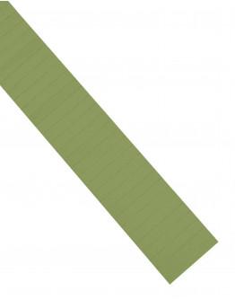 Карточки этикеточные 60x10 оливкового цвета Magnetoplan Ferrocard Labels Olive Set (1284509)