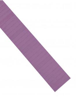 Карточки этикеточные 60x10 фиолетовые Magnetoplan Ferrocard Labels Violett Set (1284511)
