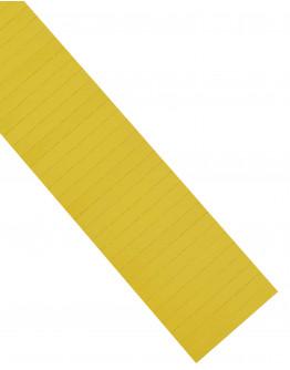 Карточки этикеточные 80x10 желтые Magnetoplan Ferrocard Labels Yellow Set (1284602)