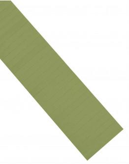 Карточки этикеточные 80x10 оливкового цвета Magnetoplan Ferrocard Labels Olive Set (1284609)