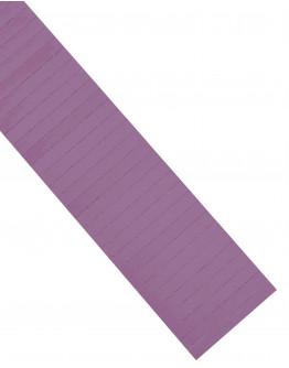 Карточки этикеточные 80x10 фиолетовые Magnetoplan Ferrocard Labels Violett Set (1284611)