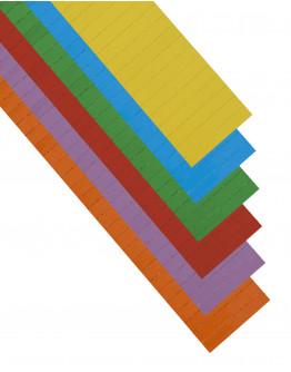 Карточки этикеточные 60x10 разноцветные Magnetoplan Ferrocard Labels Assorted Set (12849)