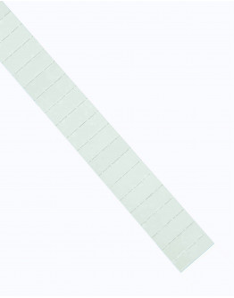 Карточки этикеточные 40x15 белые Magnetoplan Ferrocard Labels White Set (1286100)