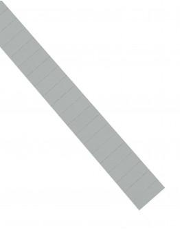 Карточки этикеточные 40x15 серые Magnetoplan Ferrocard Labels Gray Set (1286101)