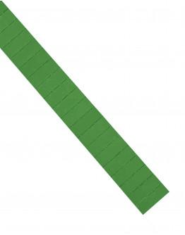 Карточки этикеточные 40x15 зеленые Magnetoplan Ferrocard Labels Green Set (1286105)