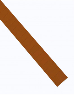 Карточки этикеточные 40x15 коричневые Magnetoplan Ferrocard Labels Brown Set (1286107)