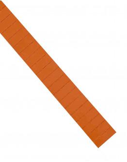 Карточки этикеточные 40x15 оранжевые Magnetoplan Ferrocard Labels Orange Set (1286144)